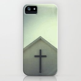 Church + Sky iPhone Case