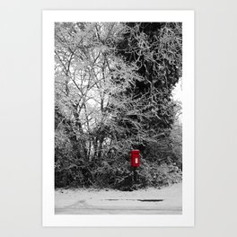 {Christmas Post} Art Print