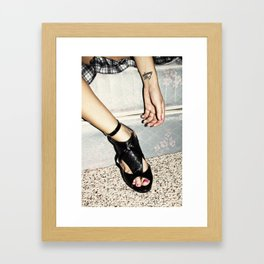 crazy/beautiful Framed Art Print