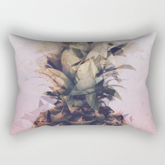 Defragmented Pineapple Rectangular Pillow
