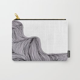 Abstract organic line drawing doodle 3 Carry-All Pouch
