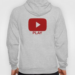 Play Button Hoody