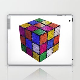 The color cube Laptop & iPad Skin
