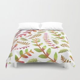 Fall Changing Leaves Duvet Cover