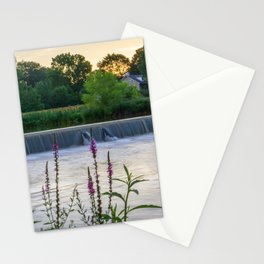 Wehr's Dam with Flowers Stationery Cards