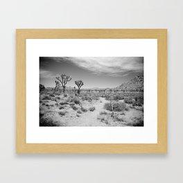 Desert Landscape 1 Framed Art Print