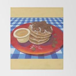 Pancakes Week 4 Throw Blanket