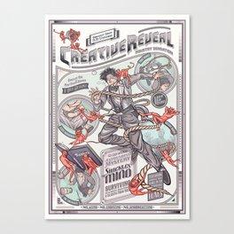 CreativeReveal - Le Designer (Standard Ver.) Canvas Print