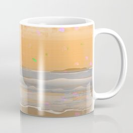Peach Beach Memories Coffee Mug
