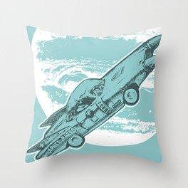 space patrol Throw Pillow