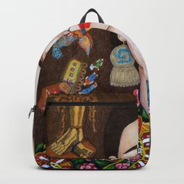 Frida thoughts Backpack