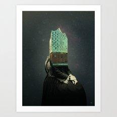 Elphi · Die neue Hamburgerin 1 Art Print
