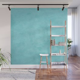 Light Blue Photography Background Wall Mural
