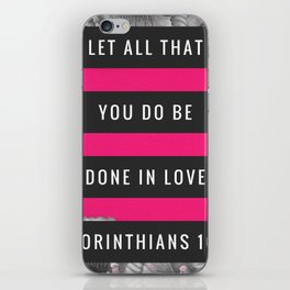 Do It With Love iPhone Skin
