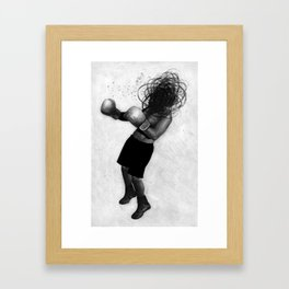 The Boxer Framed Art Print