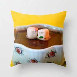 Hot Date Throw Pillow