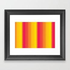 I Heart Patterns #010 Framed Art Print