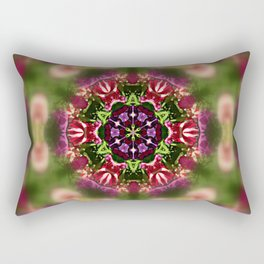"""A""  Abstract Rectangular Pillow"