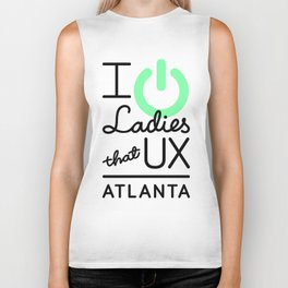 I Power Ladies that UX ATL Biker Tank