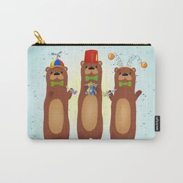 Otter Party And You Are Invited Carry-All Pouch