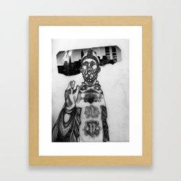 Blessing Bishop Framed Art Print