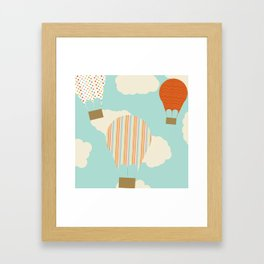 Away We Go Framed Art Print