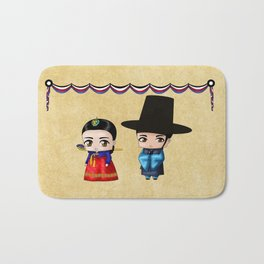 Korean Chibis Bath Mat