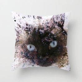 I Am Siamese Throw Pillow