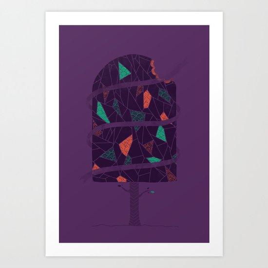 Tasty Tree Art Print