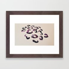 Ink Leopard Framed Art Print