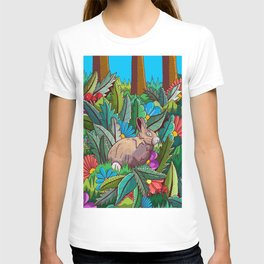 The rabbit of the woods T-shirt