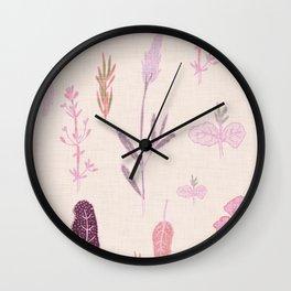 Aromatherapy Lilac Wall Clock