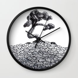 Its a Tree in a Circle Wall Clock