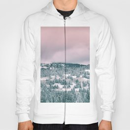 Blush Sky in Woodland Heights Hoody