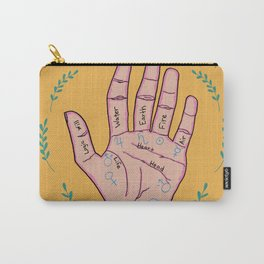 Palm Reading Metaphysical Digital Art Carry-All Pouch