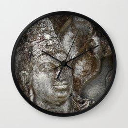 Statue at the entrance of The Polonnaruwa Vatadage Wall Clock