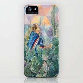 Cactus Land iPhone Case
