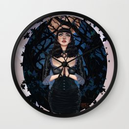 Midnight Prayers Wall Clock