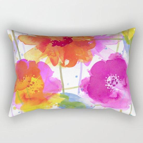 vive l'été! Rectangular Pillow