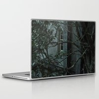 college Laptop & iPad Skins featuring Abandoned College by Anna Lisa Ferrara