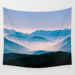 Pale Morning Light Wall Tapestry