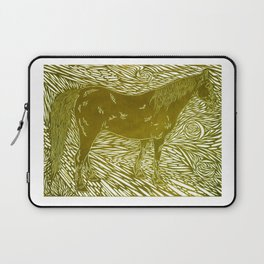 Abstract Silver Laptop Sleeve