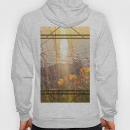 Golden Sunset - square graphic Hoody