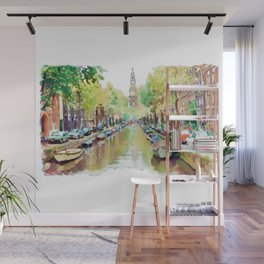 Amsterdam Canal 2 Wall Mural