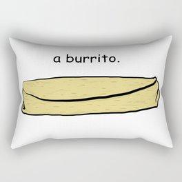 Burrito Rectangular Pillow