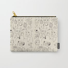 Women with their Favorite Things Carry-All Pouch