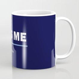 I am free. Kiss me Coffee Mug