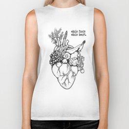 Whole foods, whole heart Biker Tank