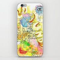 sound iPhone & iPod Skins featuring Sound by MODESTo! Prints