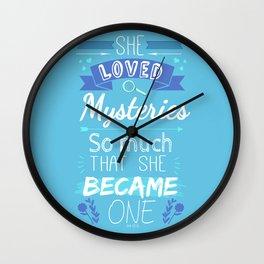 Mystery of Margo Wall Clock